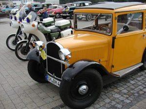Пробег ретро автомобилей по дорогам Германии, спонсируемый Mammut-Wetro